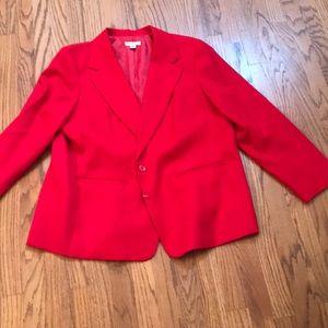 Red Jacket Blazer